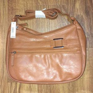 🆕 NWT Double Zipper Hobo Purse / Bag